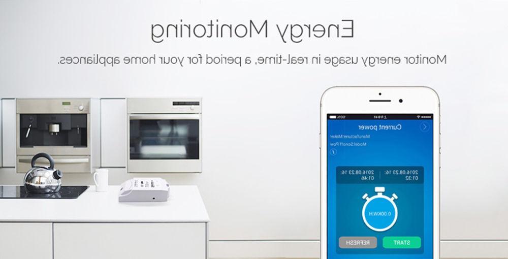 Sonoff Pow WiFi Wireless Smart Module Power Consumption
