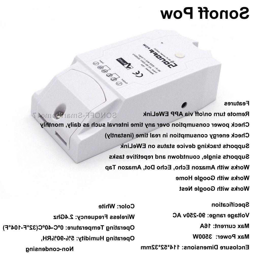 Sonoff Pow Wireless Smart Power Measurement