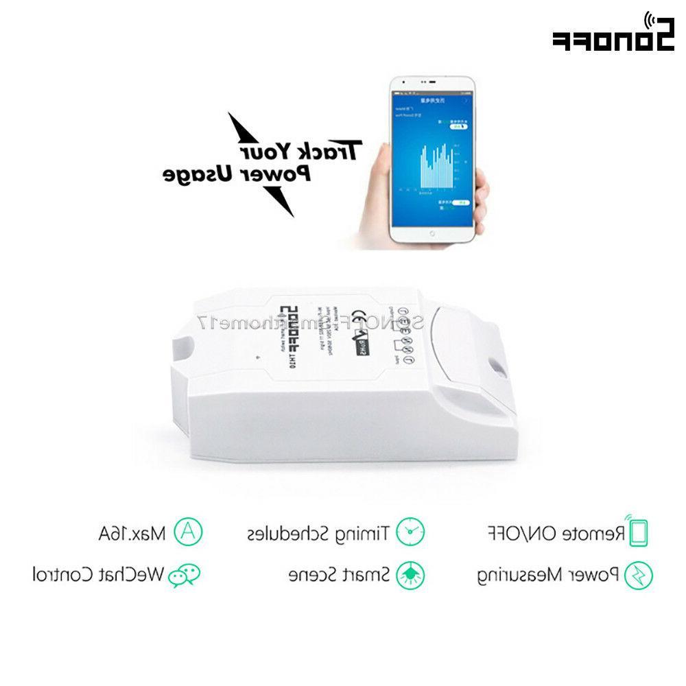 Sonoff 16A Wireless Power Consumption Measurement