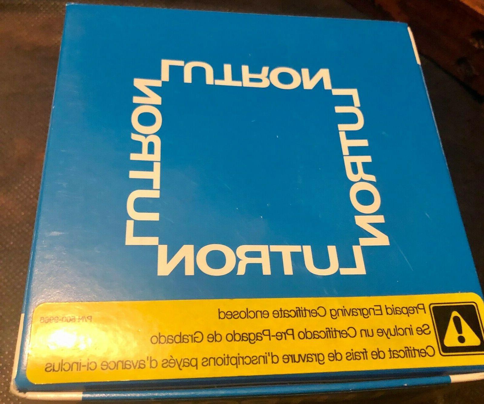 LUTRON RadioRA Button Master Control Automation Keypad