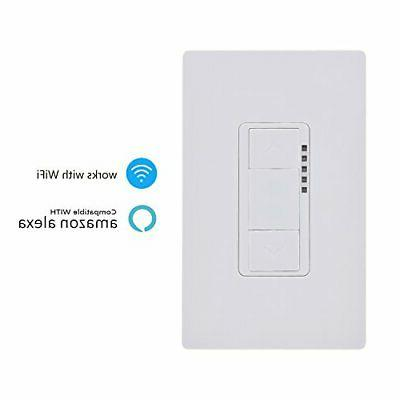 Ankuoo REC Smart Dimmer Switch App Control works with Alexa AW51011D