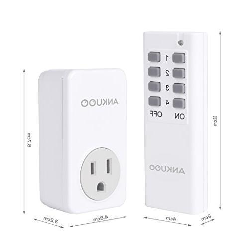 Ankuoo SD5001 Wireless Outlet White