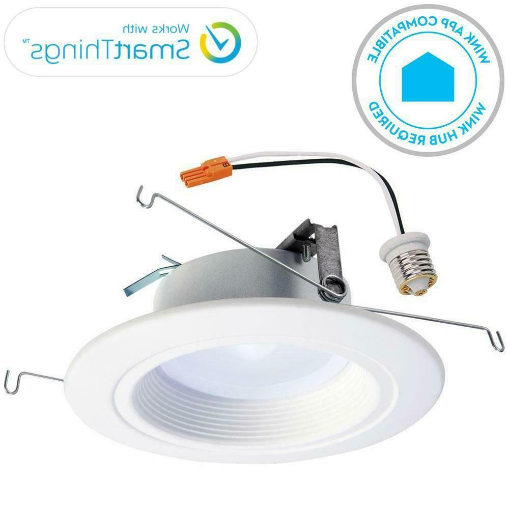 recessed rl56 zigbee smart led downlight white