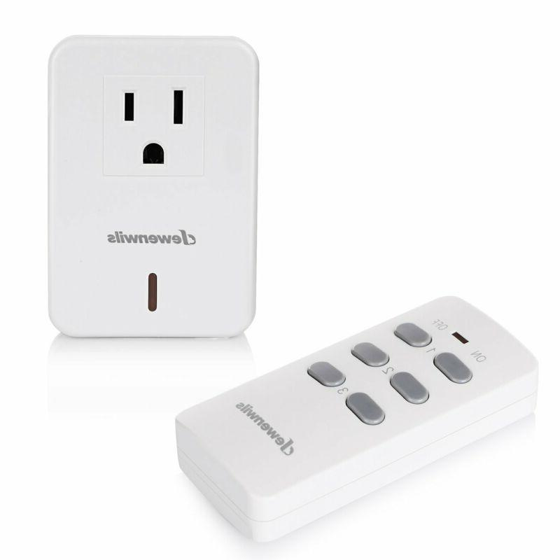 Dewenwils Remote Control Electrical Outlet Wireless On Off S