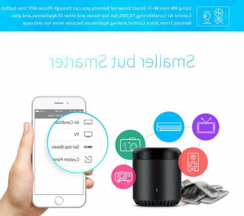 Smart Wifi Smart Remote Controller Broadlink RM Mini Black Bean