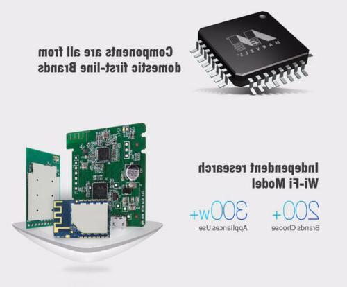 Smart Home IR Smart Remote Controller Black