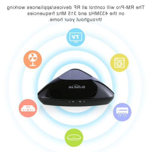 Broadlink RM Pro+ Smart Wireless WiFi/IR Remote Control Home