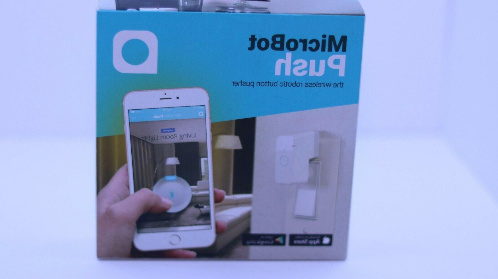 robotic button pusher for smart home microbot