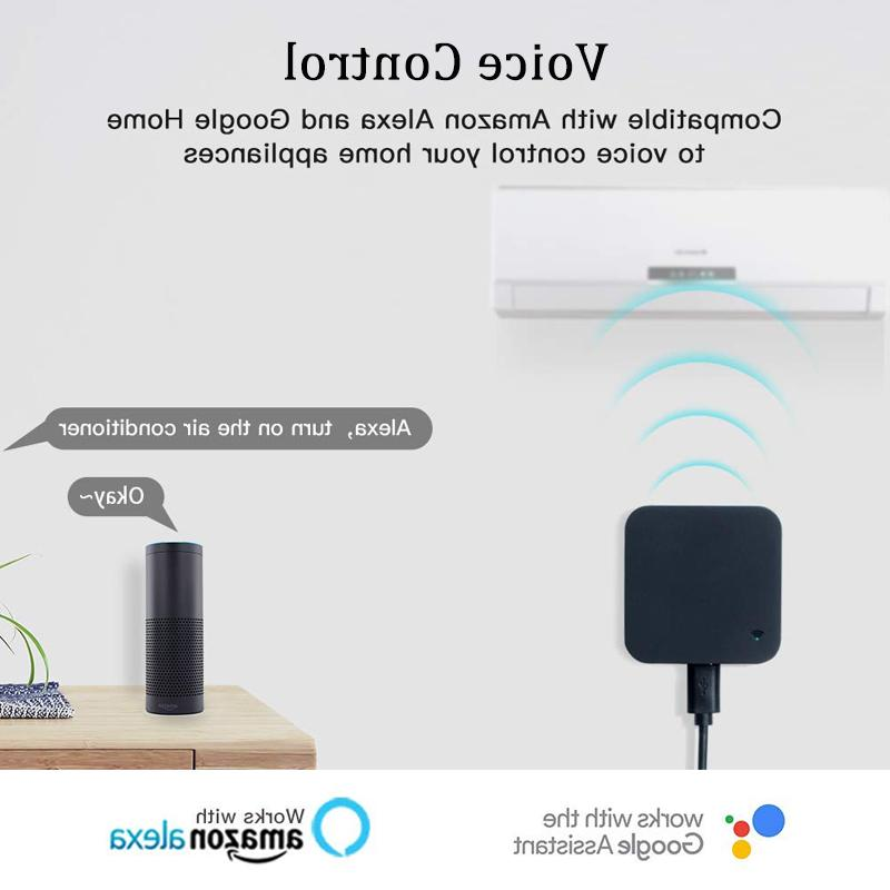 AVATTO <font><b>Home</b></font> WIFI IR Remote with Alexa,Google <font><b>home</b></font> Voice Remote