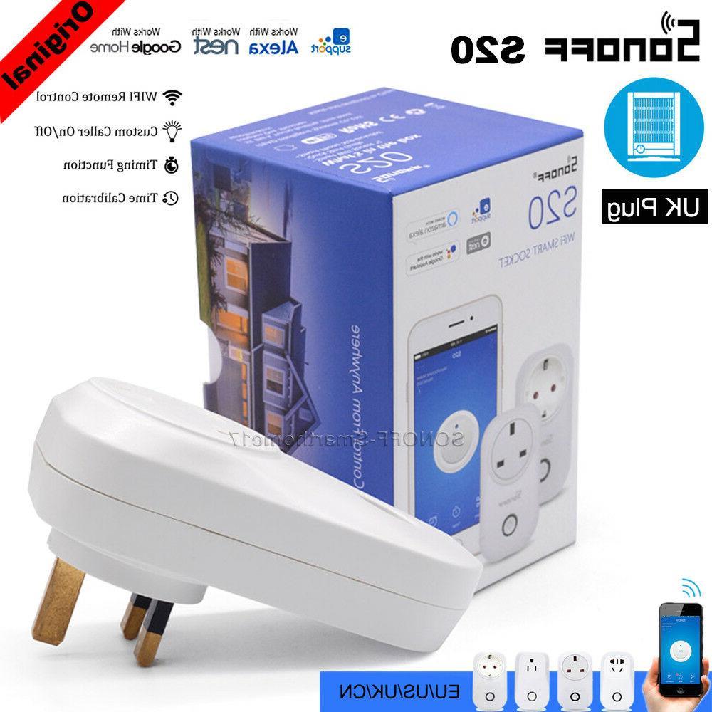 s20 uk wifi smart plug app remote