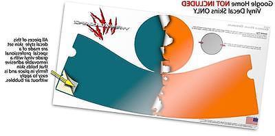 Skin Wrap Google Home Orange Seafoam