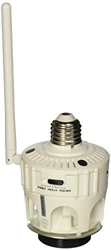 SkylinkHome LS-318 Screw-In Light Bulb Socket Dimmer Remote