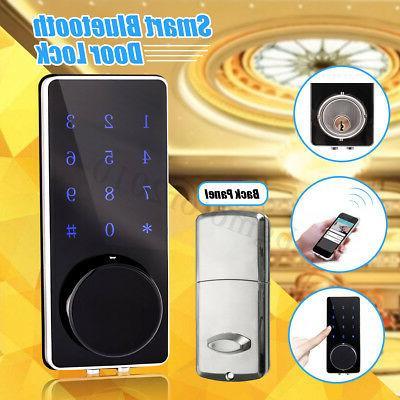 smart digital keyless door lock bluetooth touch