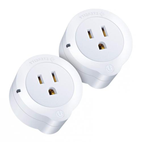 2 Pack Smart Plug Mini Outlet with Energy Monitoring WiFi En