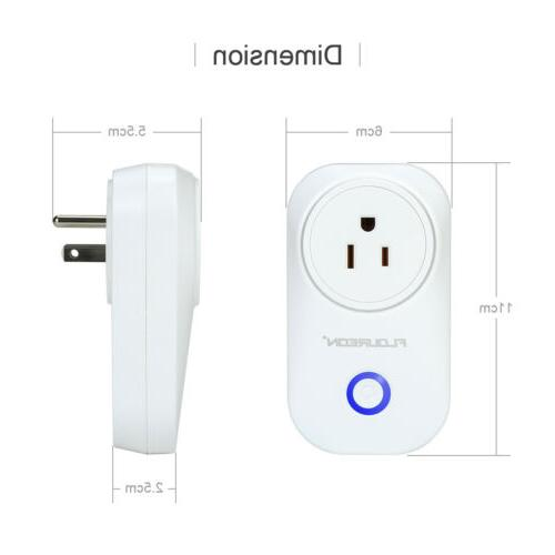 Smart Wi-Fi Socket Control Timer Cellphone Home US