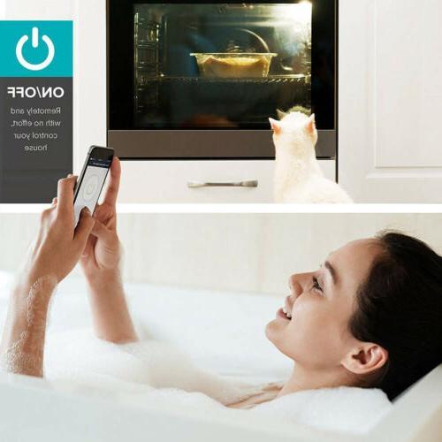 Smart WIFI Plug Power Control Timer US Automation