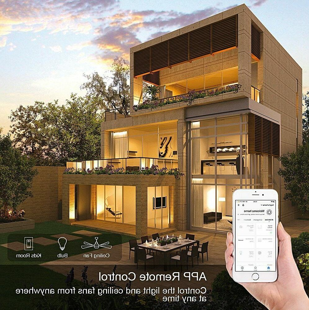 Smart WiFi Wall Home Automation Wireless Control for