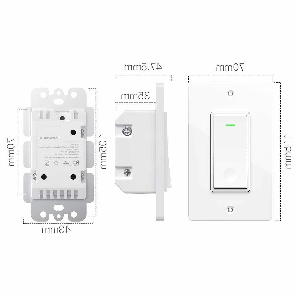 Smart in Wall Automation Wireless