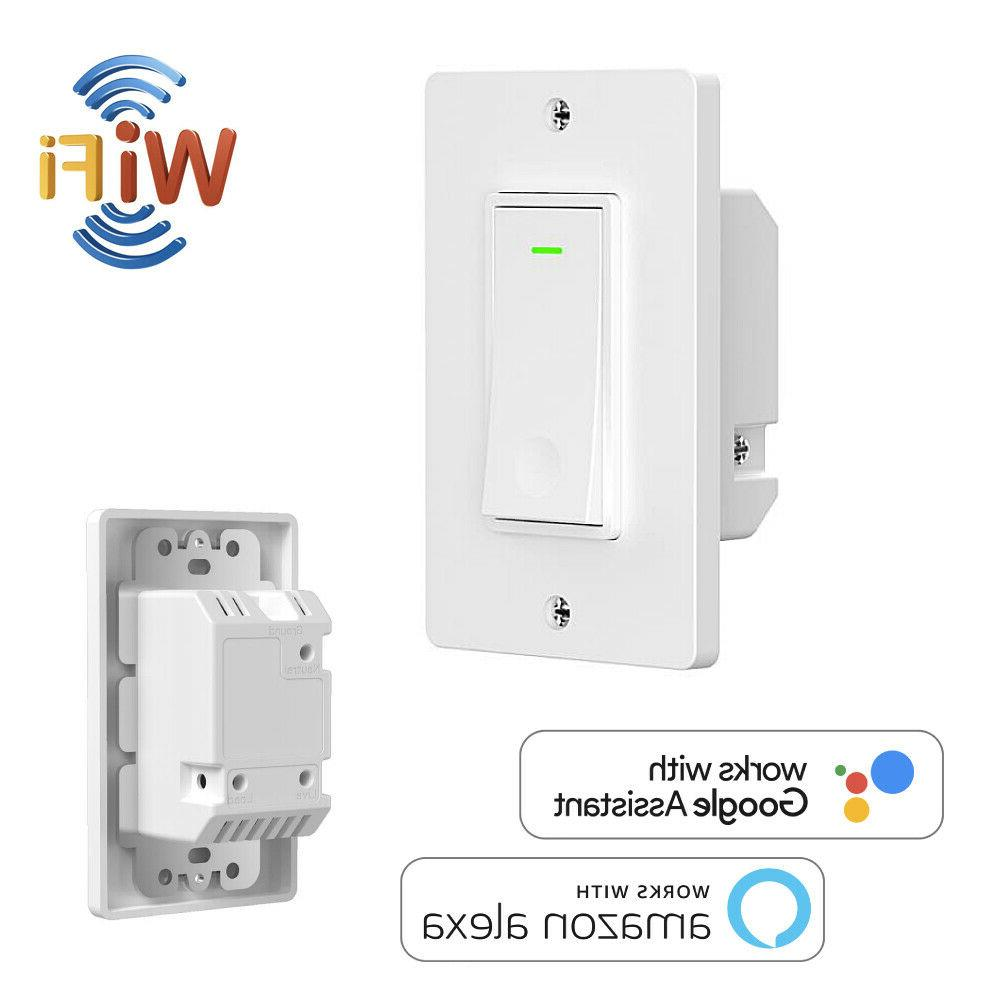 smart wifi switch in wall smart home