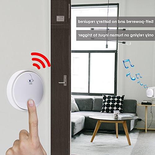Ankuoo Doorbell, For Receiver, White
