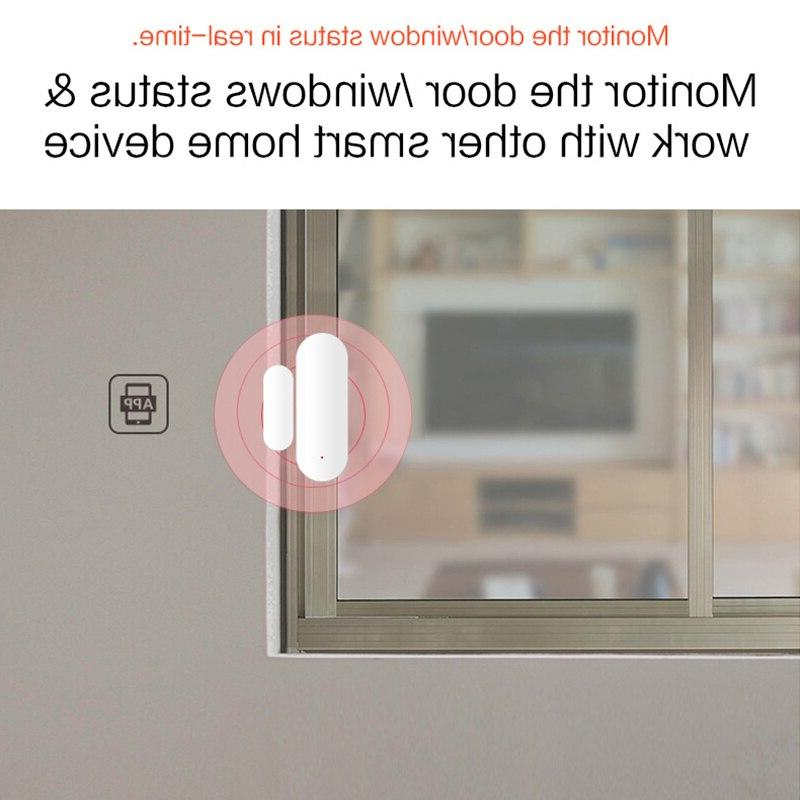 Smart WiFi / Window Sensor For <font><b>Automation</b></font> <font><b>Security</b></font> ALARM Compatible with