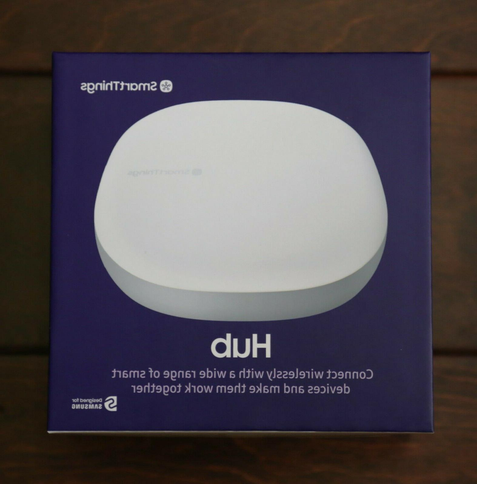smartthings home automation hub wireless works