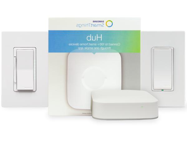 Samsung SMARTTHINGS HUB & LEVITON BUNDLE STKIT-2DS