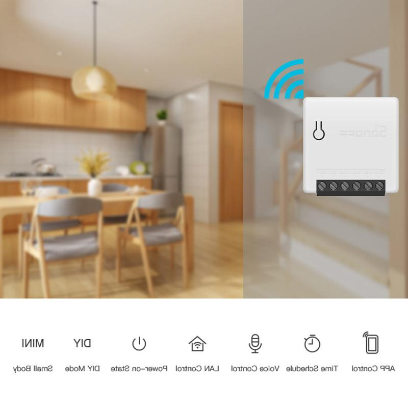 SONOFF Way Intelligent DIY Appliance <font><b>Automation</b></font> Remote Control Switches for Alexa WiFi Smart Switch
