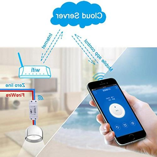 Sonoff Switch Universal Smart Remote Via IOS Android