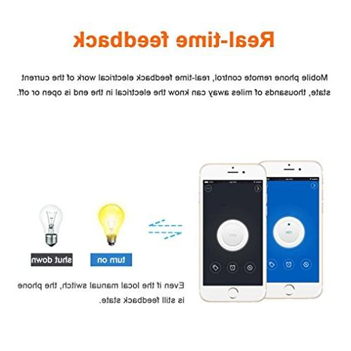 Smart Home Timer Diy Wireless Remote IOS Android 10A/2200W