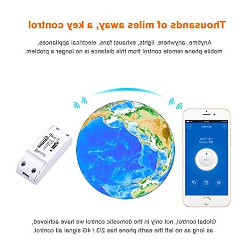 Sonoff Wifi Smart Home Automation Timer Wireless Android