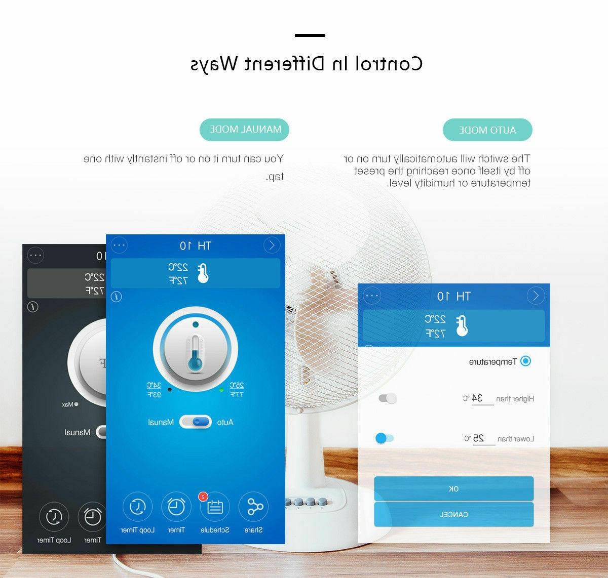 Sonoff Timer Smart WiFi Remote For Android