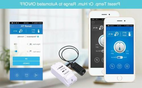 Sonoff WiFi Power Switch Monitoring DIY Smart Home