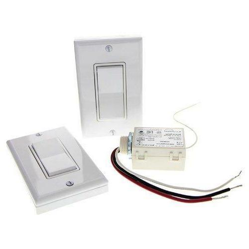 Three Way Wireless Light Switch Kit  NO BATTERIES NEEDED!!