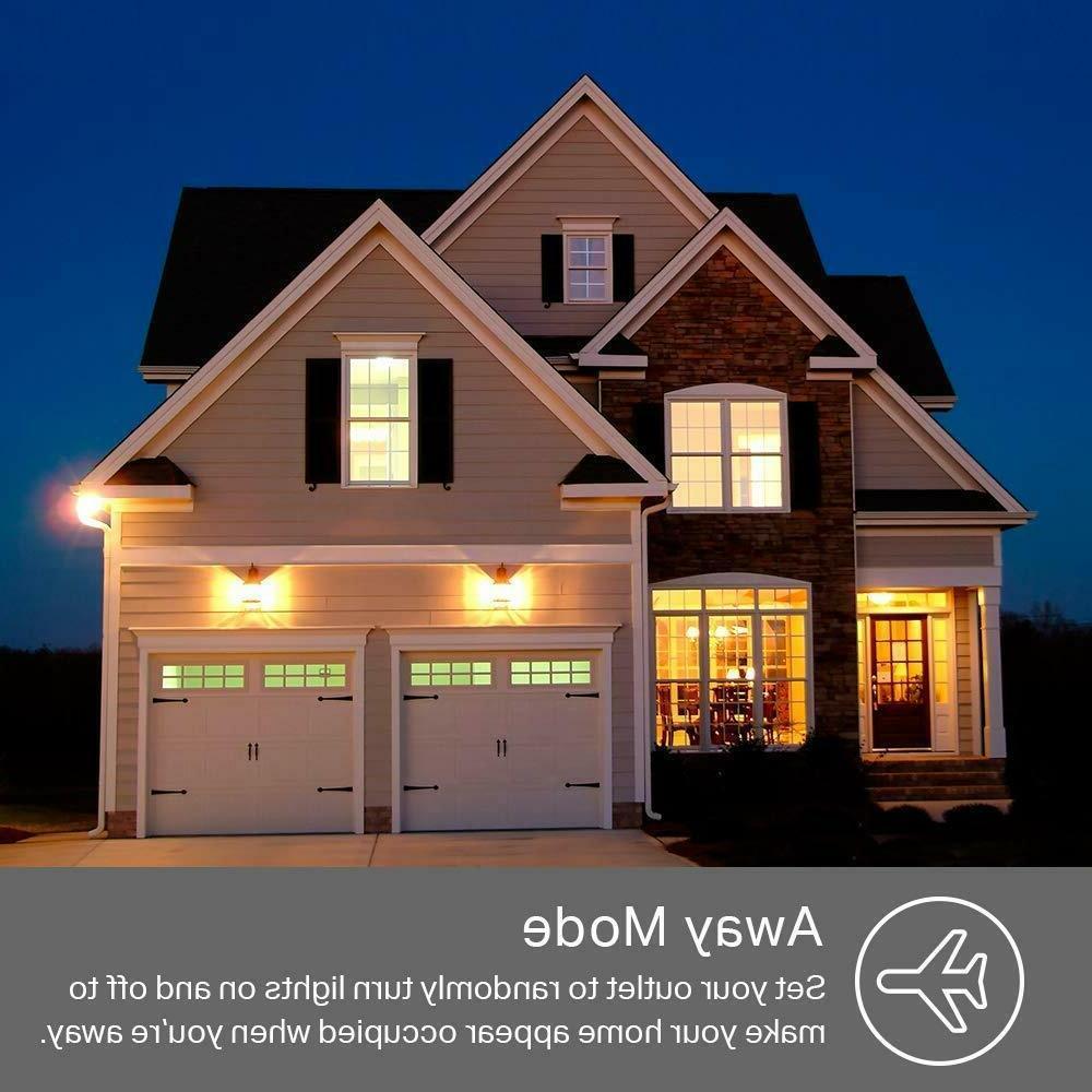 TP-Link Kasa 2-Outlet Wi-Fi Alexa Google Home | KP200