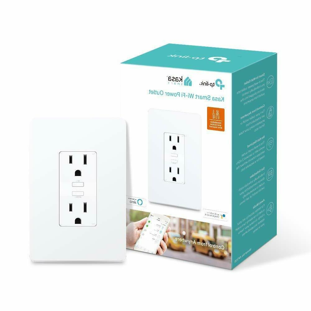 tp link kasa smart 2 outlet wi