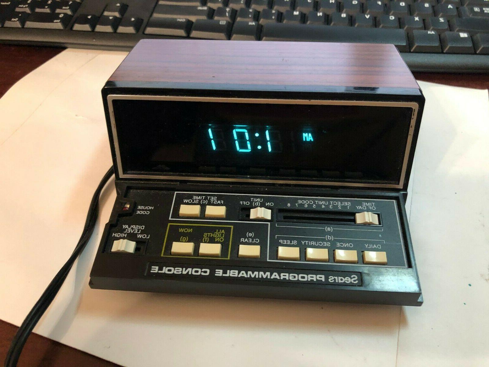 vintage the timer programmable home automation console
