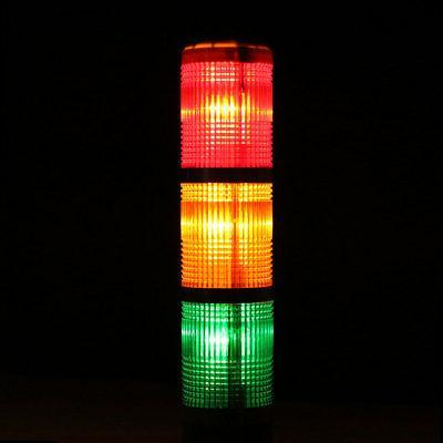 Warning Light Indicator Alarm Lamp DC24V Red Green