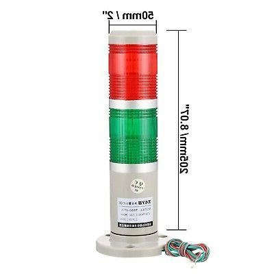 uxcell Warning Light Bulb Bright Tower Red