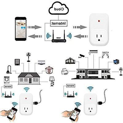 Welding Equipment Accessories WiFi Smart Plug,WiFi Remote Control Electrical