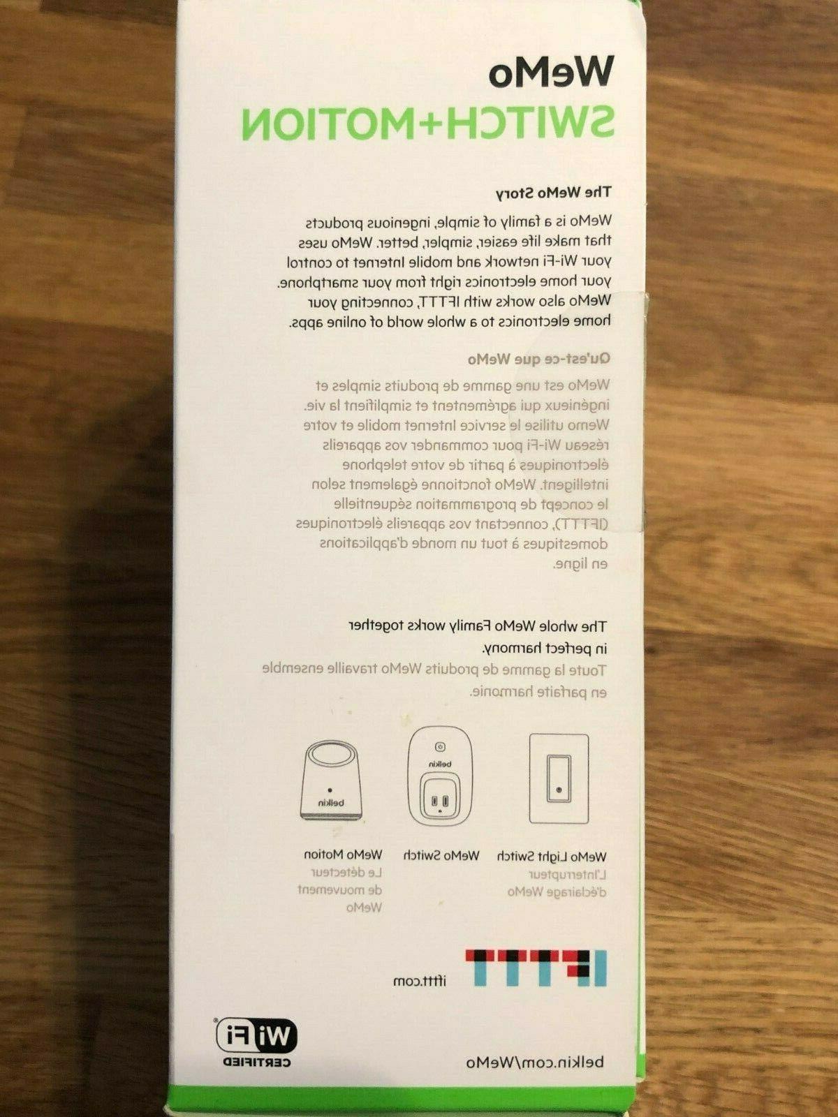 Belkin WeMo Switch + Wifi