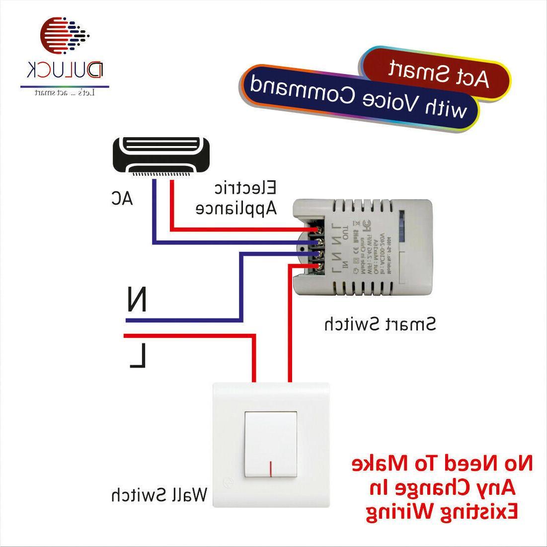 WIFI Smart Switch Loads 3200 Watt