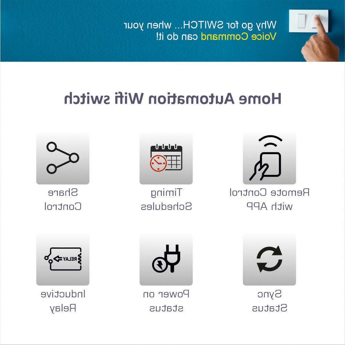 WIFI Controled Smart Switch Loads 3200