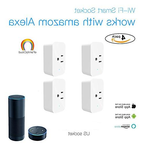 wifi smart home switch plug