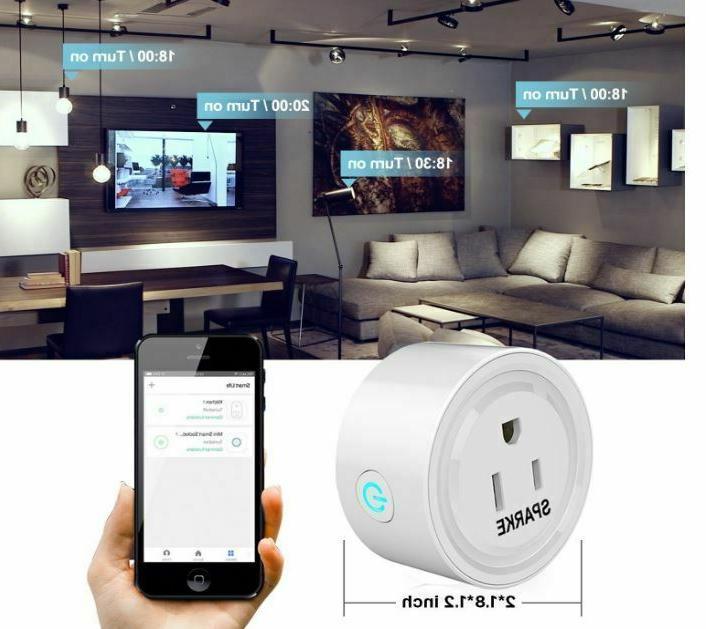 WiFi Plug Pcs Wireless Socket