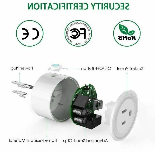 WiFi Switch Outlet Smart Home Socket New