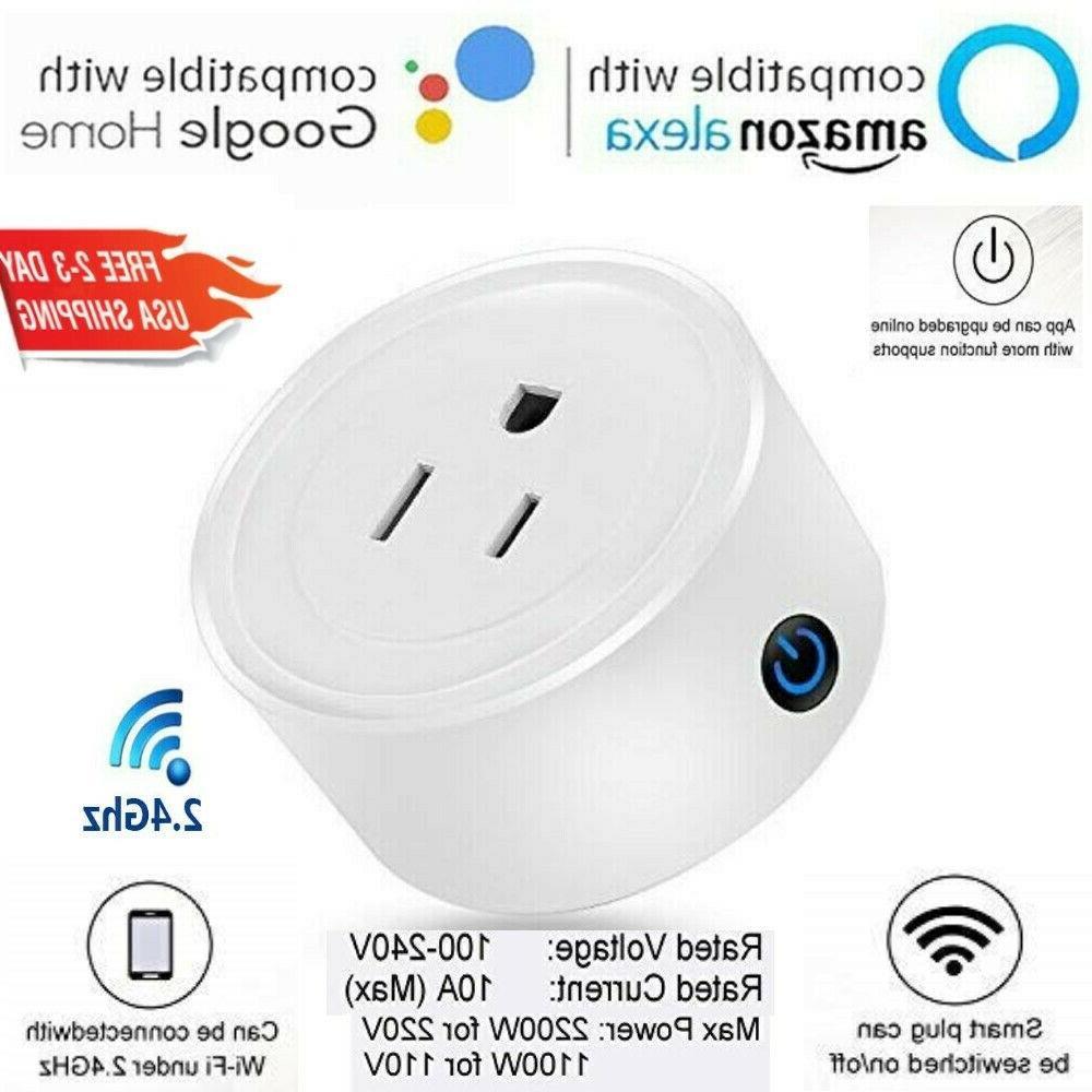 wifi smart plug 2 pcs power switch