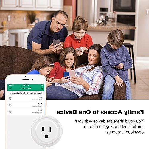 Switch Outlet Timing for Works with Amazon Alexa & No Hub Required, Your