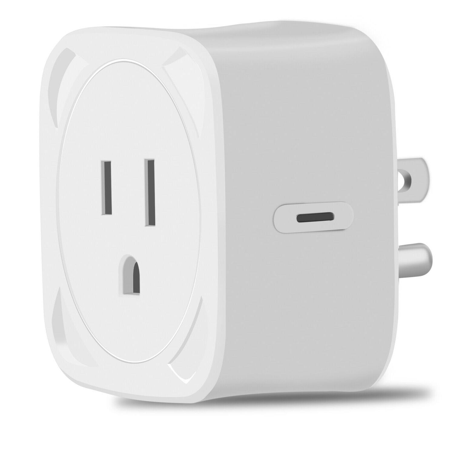 WiFi Smart Plug Socket APP Remote Voice Control Timing Googl