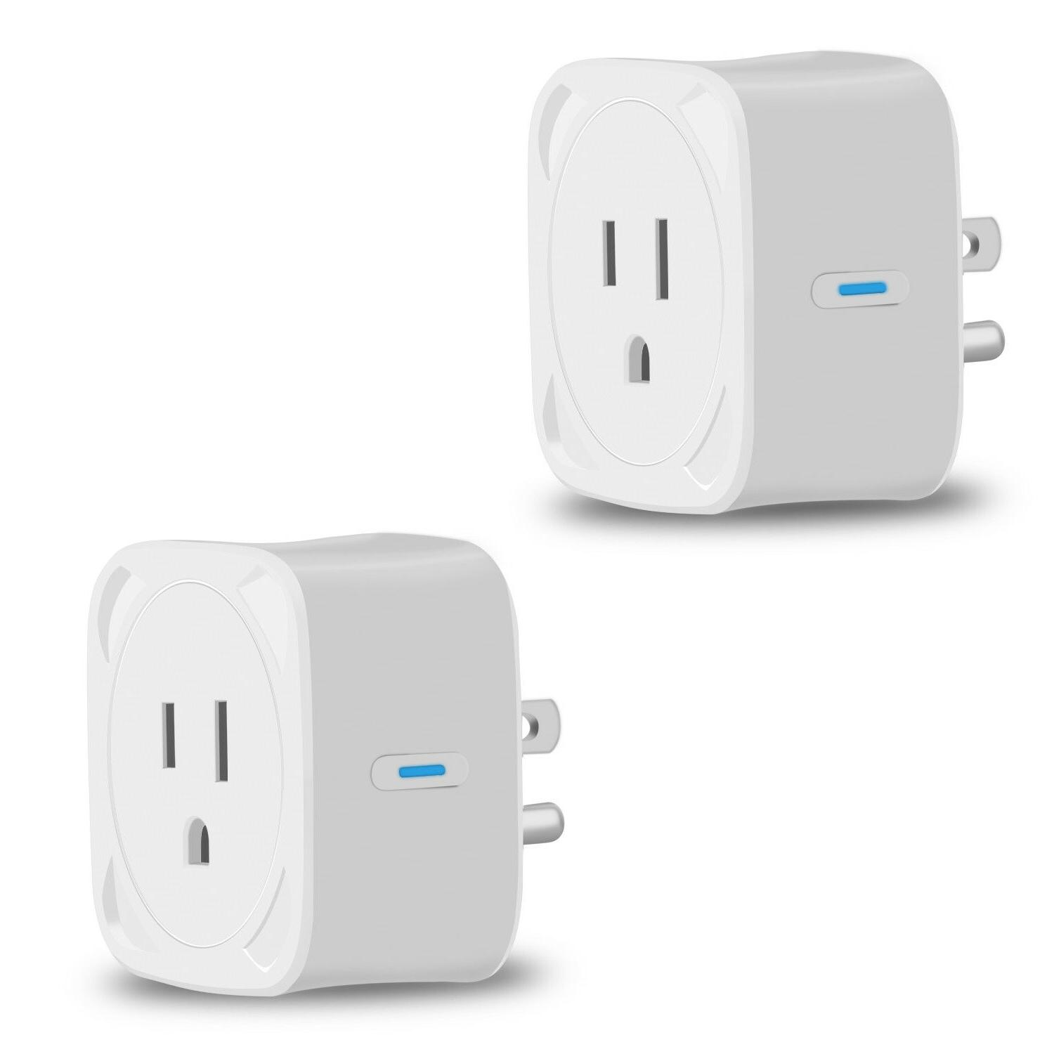 WiFi Smart Plug Socket APP Remote Voice Timing Alexa Outlet